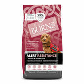 Burns Alert Adult & Senior Chicken & Brown Rice Assistance Dog Food