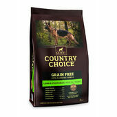 Gelert Country Choice Grain Free Lamb & Veg Adult Dry Dog Food