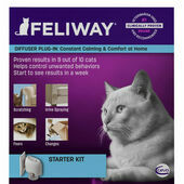 Feliway Classic Diffuser and 48ml Refill Cat Calmer