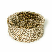 Danish Design Luxury Leopard Cat Snuggle Bed