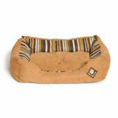 Danish Design Morocco Tan Stripe Rectangular Snuggle Dog Bed