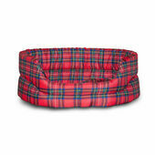 Danish Design Royal Stewart Red Tartan Slumber Dog Bed