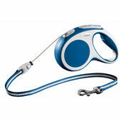 Flexi Vario Retractable Cord Lead Blue