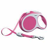 Flexi Vario Retractable Tape Lead Pink