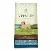 Vitalin Natural Puppy Chicken & Rice Dog Food