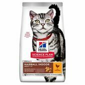 Hill\'s Science Plan Adult Hairball & Indoor Feline Cat Chicken