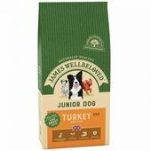 JAMES WELLBELOVED Turkey & Rice Kibble Junior 2kg