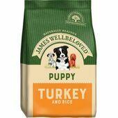James Wellbeloved Turkey & Rice Puppy Dog Food