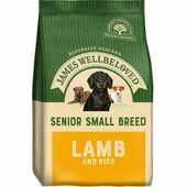 James Wellbeloved Small Breed Senior Lamb & Rice Dry Dog Food
