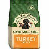 James Wellbeloved Small Breed Turkey & Rice Senior Dog Food