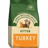 James Wellbeloved Turkey Hypoallergenic Kitten Food