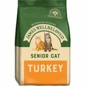 James Wellbeloved Senior Turkey Cat Food