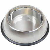 Van Ness Non Tip Stainless Steel Dog Bowl Dish 64oz