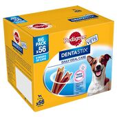 Pedigree Dentastix Daily Oral Care Small Breed Dental Dog Treats (56 Sticks)