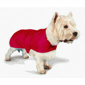 Pennine Waterproof Fur Lined Coat Red