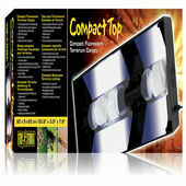 Exo Terra Compact Fluorescent Canopy Triple 60cm
