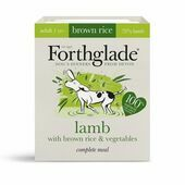 18 x 395g Forthglade Natural Lifestage Lamb & Veg Adult Wet Dog Food