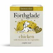 18 x 395g Forthglade Complete Chicken & Veg Senior Dog Food