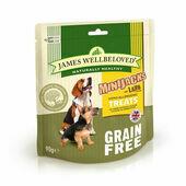 James Wellbeloved Grain Free Minijacks Dog Treats Lamb 90g