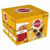 Pedigree Adult Wet Dog Food Pouches Mixed Selection in Jelly 24x100g