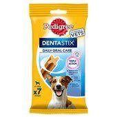 Pedigree Dentastix Daily Oral Care Dental Chews Small Dog (5-10kg) (70 Sticks)