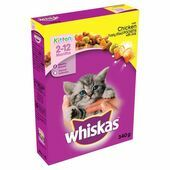 Whiskas Kitten Chicken Complete Dry Food