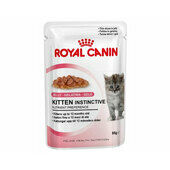 Royal Canin Instinctive Kitten (4 - 12 Months) Food Jelly Pouch 12 x 85g