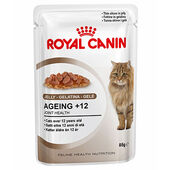 Royal Canin Ageing (+12 Yrs) Cat Food Jelly Pouch 12 x 85g