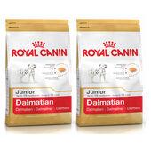 2 x 12kg - Royal Canin Multi-Buy Dalmatian 25 Dry Puppy (Junior Dog) Food