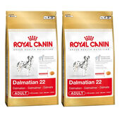 2 x 12kg Royal Canin Dalmatian 22 Dry Adult Dog Food