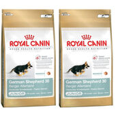 2 x 12kg - Royal Canin Multi-Buy German Shepherd 30 Dry Puppy (Junior Dog) Food