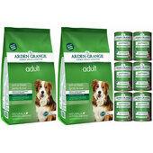 Arden Grange Lamb & Rice Wet & Dry Adult Dog Food Bundle
