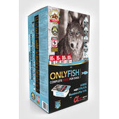 5.67kg - Alpha Spirit Only Fish Semi-moist Complete Dog Food (27x210g)