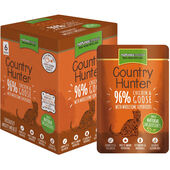 18 x Country Hunter Chicken & Goose Adult Wet Cat Food 85g