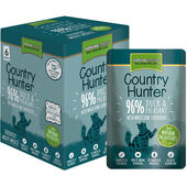18 x Country Hunter Duck & Pheasant Adult Wet Cat Food 85g
