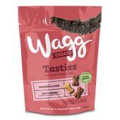 7 x 150g Wagg Tasty Bones Chicken & Liver Dog Treats