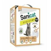 Sanicat Evolution Adult Clumping Dust-Free Cat Litter - 6L
