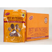 16 x Mix & Match Pet Munchies 100% Natural Dog Treats Pouch