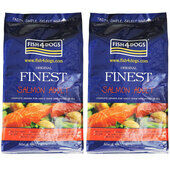 2 x 6kg Fish4Dogs Original Finest Salmon Small Bite Adult Dog Food Multibuy