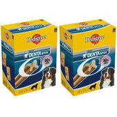 2 x 28 Pedigree Dentastix Daily Large Breed Dog Treats Multibuy - 56 Sticks