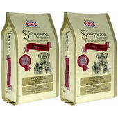 2 x 12kg Simpsons Premium Adult Sensitive Chicken & Potato Dry Dog Food Multibuy