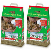 2 x 30L Cat\'s Best Okoplus Clumping Cat Litter Multibuy