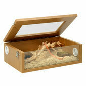 Monkfield Terrainium Medium Reptile Vivarium - 18 Inch Oak