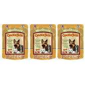 3 x 225g James Wellbeloved Crackerjacks Turkey, Rice & Tomato Dog Treats Multibuy