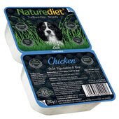18 x 280g Naturediet Chicken With Vegetables & Rice Wet Dog Food