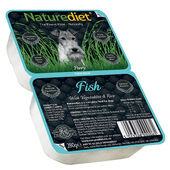 18 x 280g Naturediet Fish With Vegetables & Rice Wet Dog Food