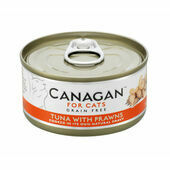 12 x 75g Canagan Tuna With Prawns Grain-Free Cat Food