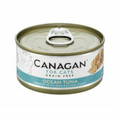 12 x 75g Canagan Ocean Tuna Grain-Free Cat Food
