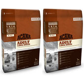 2 x 11.4kg Acana Heritage Adult Large Breed Dry Dog Food Multibuy