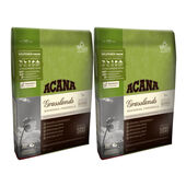 2 x 11.4kg Acana Regionals Grasslands Dry Dog Food Multibuy